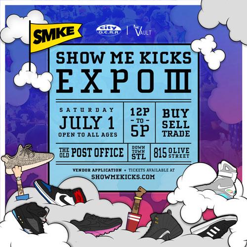 Show Me Kicks Expo: 2017